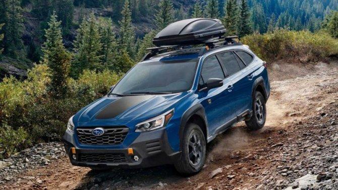 Представлен Subaru Outback вовнедорожной модификации