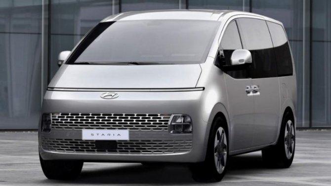 Новый минивэн Hyundai Staria появится вРоссии