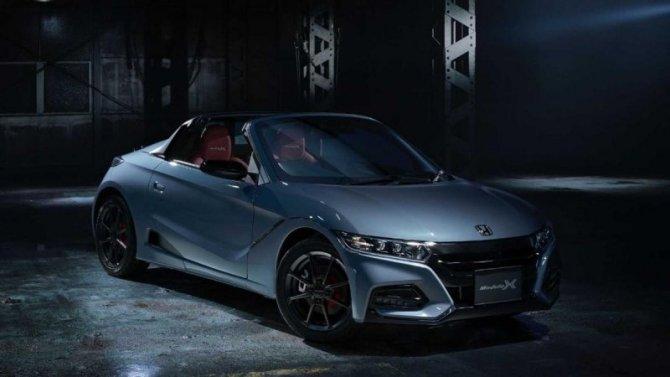 Спорткар Honda S660 через год будет снят спроизводства