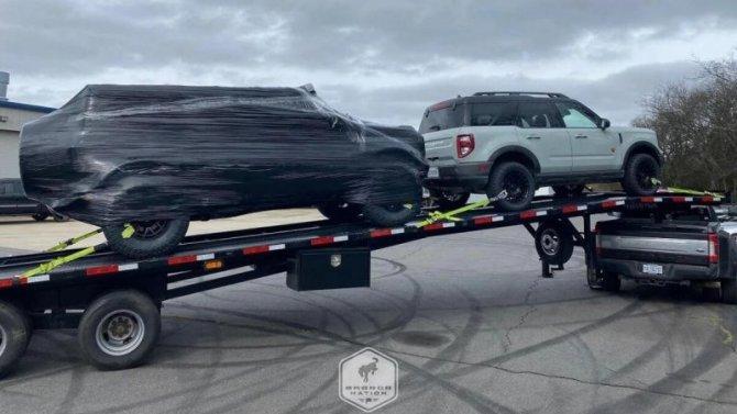 Ford Bronco Warthog явно готовится кпремьере