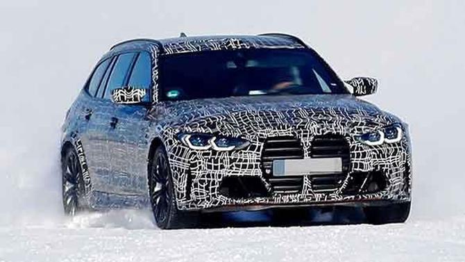 Начались испытания универсала BMW M3 Touring