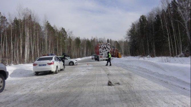 4-летний ребенок погиб в ДТП с лесовозом в Свердловской области