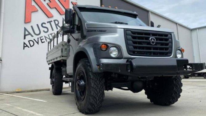 ГАЗ начал экспорт грузовиков вАвстралию