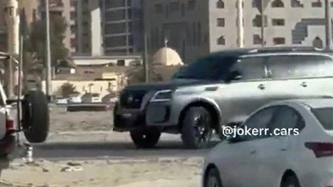 Появились первые снимки «заряженного» Nissan Patrol