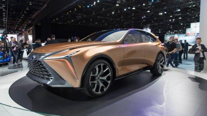 Отложена презентация нового внедорожника LexusLF