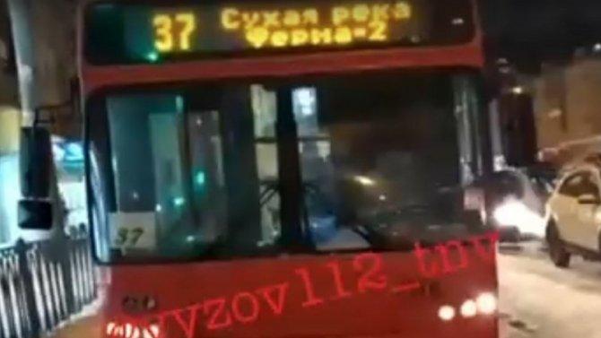 ВКазани ограбили автобус