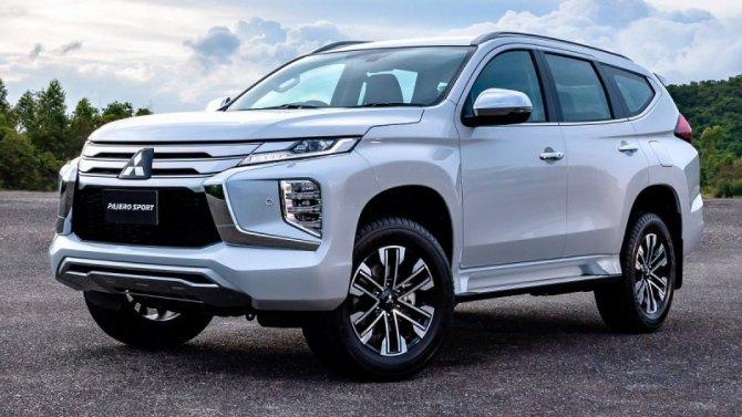 ВРоссии представлен новый Mitsubishi Pajero Sport