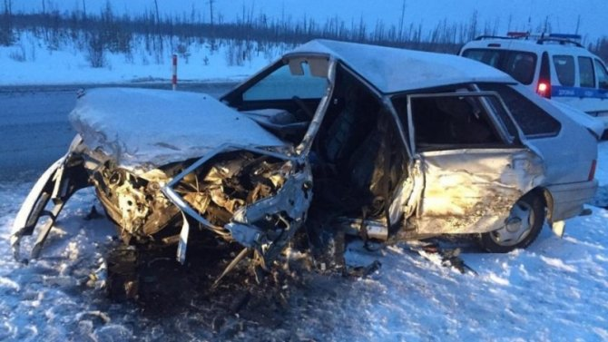 В Тюменской области в ДТП с бензовозом погиб водитель «Лады»