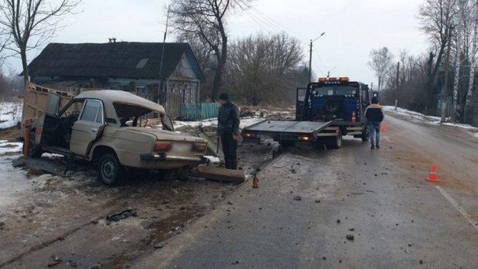 21-летняя девушка погибла в ДТП в Суражском районе Брянской области