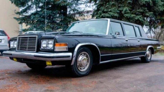 ВРоссии продаётся очередной советский лимузин
