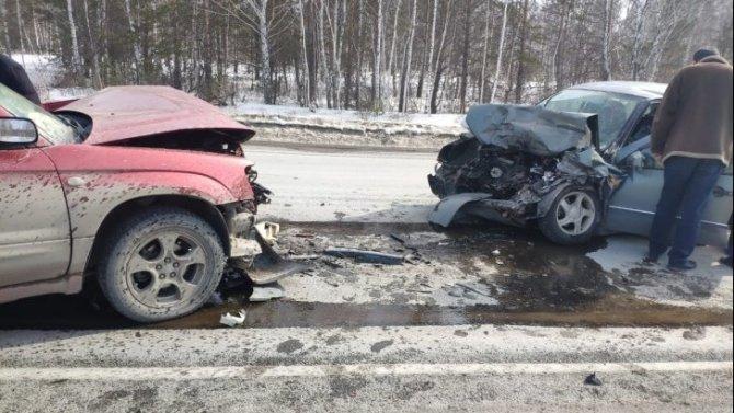 Пять человек пострадали в ДТП под Новосибирском