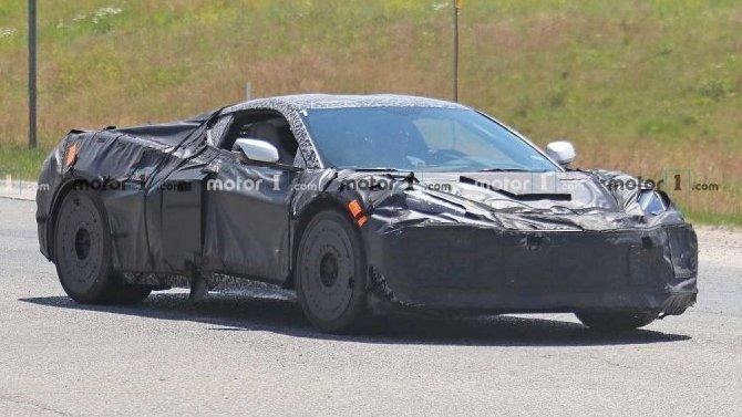Начались испытания Chevrolet Corvette C8 Z06