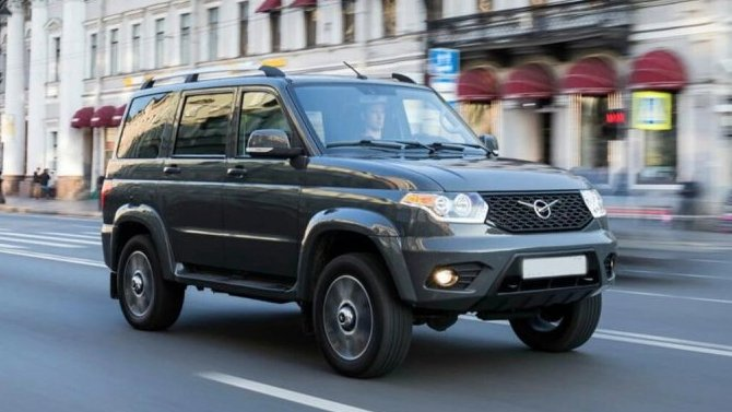 Начались продажи внедорожников УАЗ «Патриот» вЧили