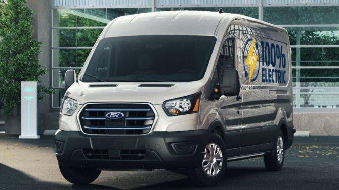 ВРоссии наладят выпуск электрических версий Ford Transit