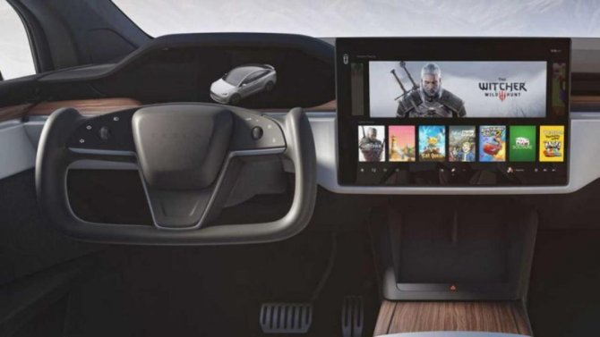 Электромобили Tesla лишатся селектора режимов движения