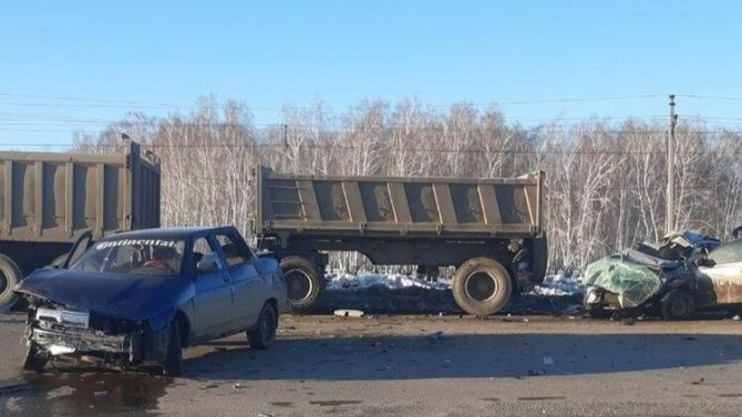 В ДТП в Челябинской области погиб пассажир иномарки