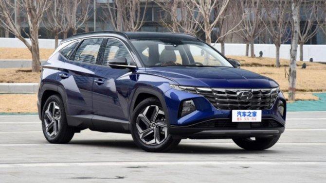 Удлинённый Hyundai Tucson скоро поступит впродажу