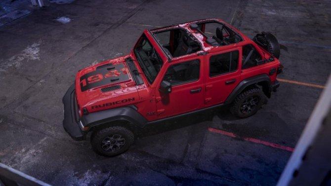 Начались продажи юбилейной версии Jeep Wrangler