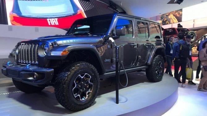Сколько «жрёт» гибридный Jeep Wrangler