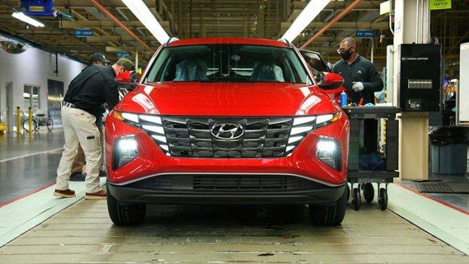 Начался выпуск кроссовера Hyundai Tucson нового поколения
