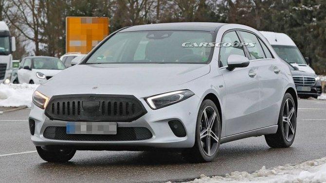 Начались испытания обновлённого хэтчбека Mercedes-Benz A-Кlassе