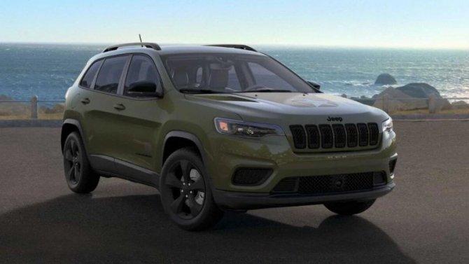 Jeep Cherokee получил «армейское» исполнение