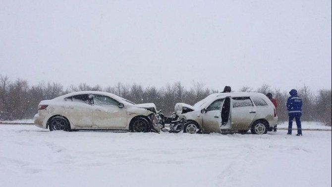 Водитель «Лады» погиб в ДТП в Камышинском районе Волгоградской области