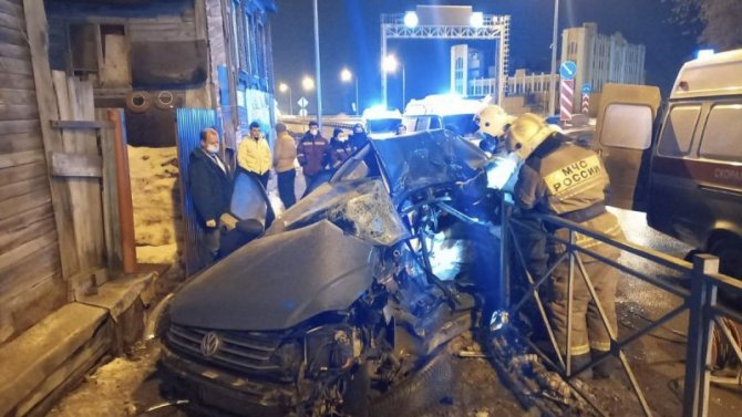 Три человека погибли в ДТП со «скорой» в Самаре