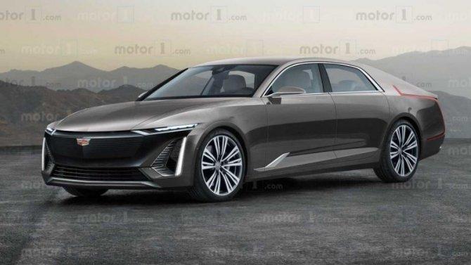 Cadillac скоро представит флагманский электроседан