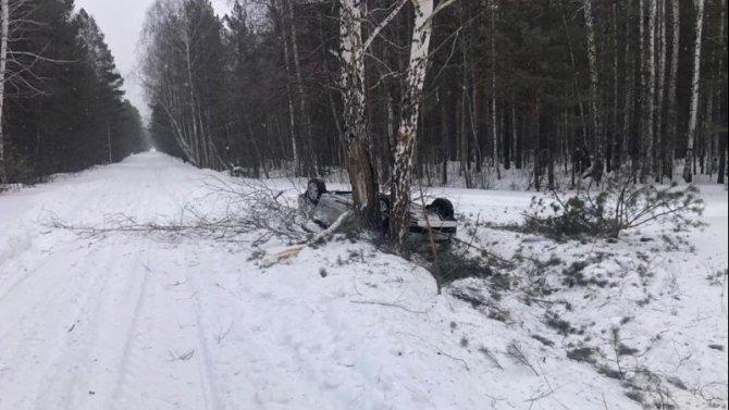 Женщина-водитель погибла в ДТП в Челябинской области