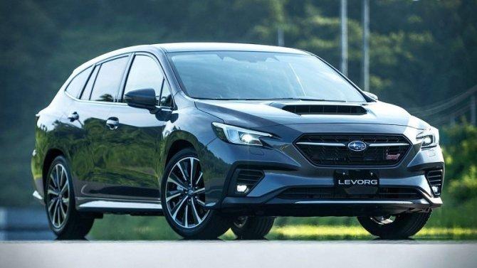 Универсал Subaru Levorg получит «заряженную» версию