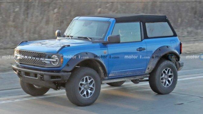 ВСША замечены странно оснащённые внедорожники Ford Bronco