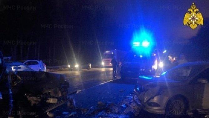 Пассажир «Приоры» погиб в ДТП в Калужской области