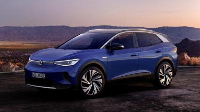 ВЕвропе начались продажи электрокроссовера VolkswagenID.4
