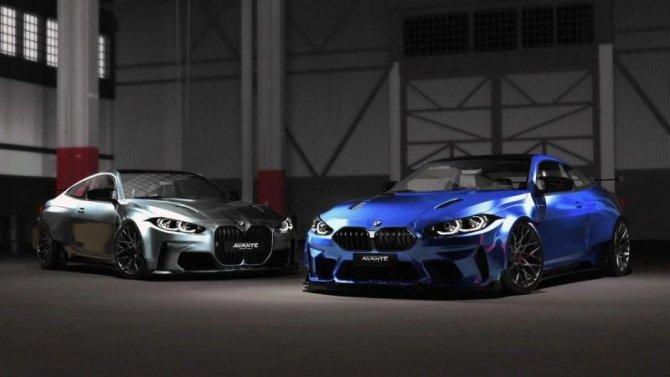 Спорткар BMW M4 Coupe получил тюнинговый обвес