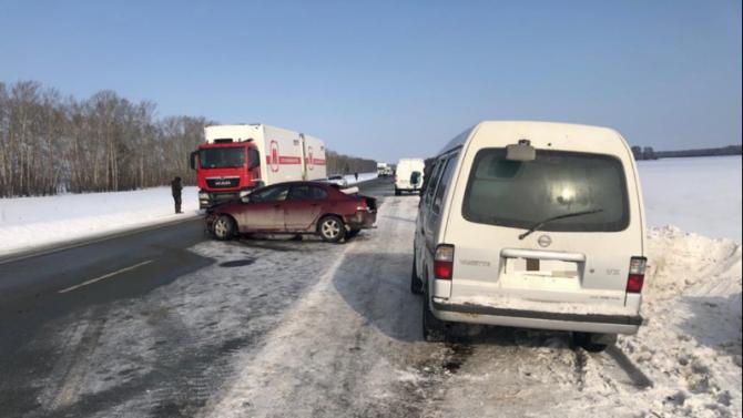 В ДТП под Новосибирском погиб человек