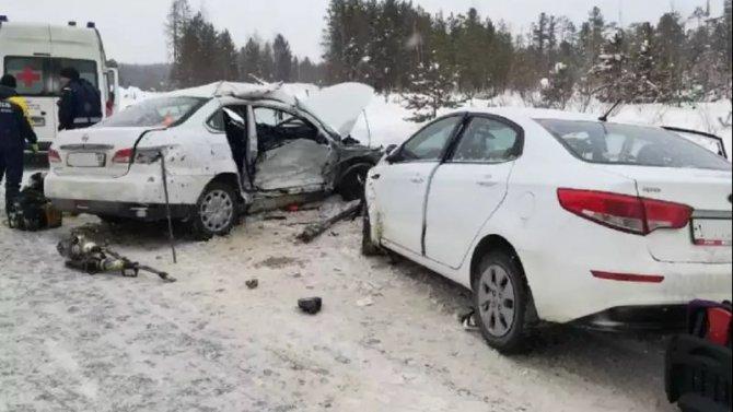 Две женщины погибли в ДТП под Няганью