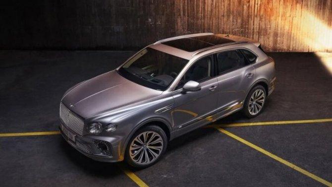 ВРоссии появился обновлённый Bentley Bentayga