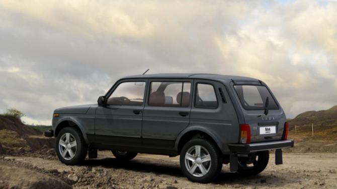Остановлено производство удлинённых Lada Niva Legend