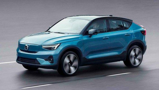 Представлен новый электрокроссовер Volvo C40 Recharge