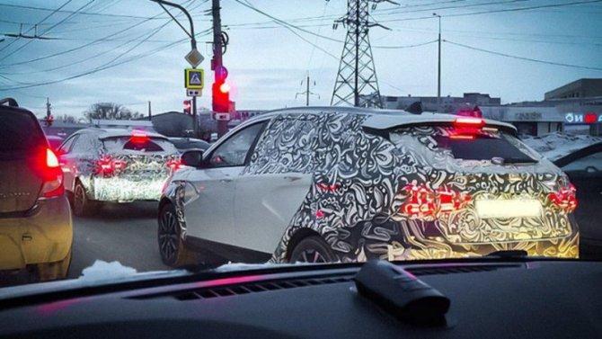 Lada VestaFL получила светодиодные задние фонари