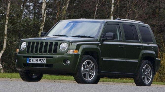 Фирма Jeep планирует возродить название Patriot