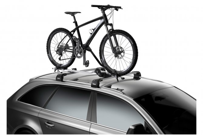 крепление для велосипеда на крышу авто