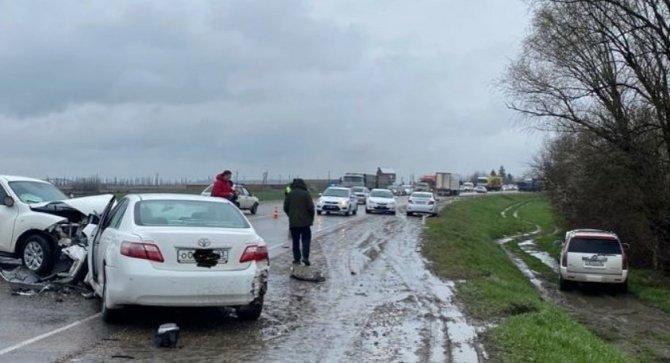 Женщина-водитель погибла в ДТП в Славянском районе Краснодарского края (2)