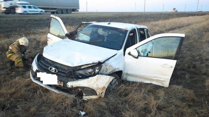 При опрокидывании «Лады» в Оренбургской области погибла женщина (2)