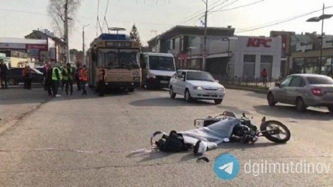 21-летний водитель мопеда погиб в ДТП в Башкирии