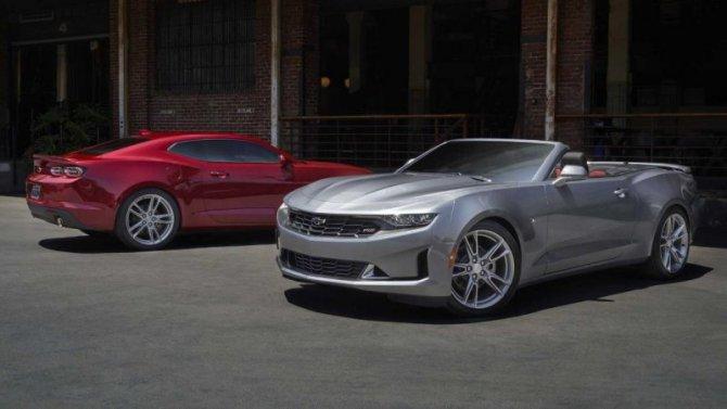 Chevrolet Camaro лишится одной изверсии