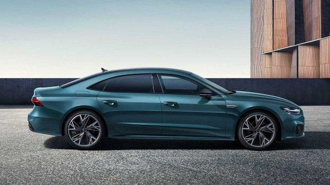 Шанхай-2021: представлен удлинённый Audi A7 L, предназначенный для Поднебесной