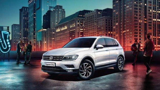 Volkswagen Tiguan c выгодой от СберЛизинга
