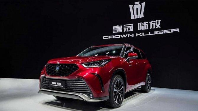 Шанхай-2021: представлен кроссовер Toyota Crown